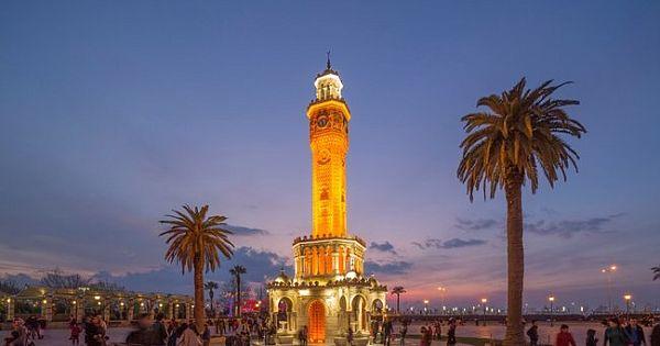 İzmir'de tatil keyfi