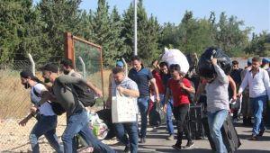 38 bini aşkın Suriyeli ülkelerine bayram ziyareti için gitti
