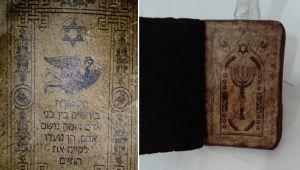 5 Bin yıllık kitap bulundu .5 milyon dolar değerinde