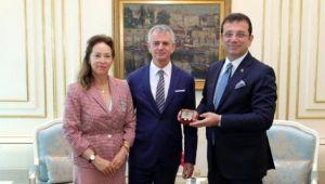 Ekrem İmamoğlu, Kaz Dağları için Kanada Büyükelçisi ile görüştü