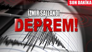 KORKUTAN DEPREM İZMİR 4.8 LE SALLANDI