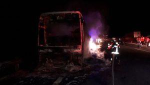 O kazada son anda 40 yolcu kurtarıldı