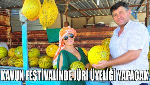 Pınar Aylin, Kavun Festivalinde jüri üyeliği yapacak