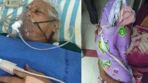 73 yaşındaki kadın ikiz doğurdu! Kocası inme geçirdi