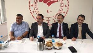 AK Partili Kırkpınar'dan koordinasyon toplantısı
