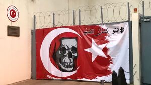 Beyrut'taki Türk Büyükelçiliği'ne provokatif saldırı