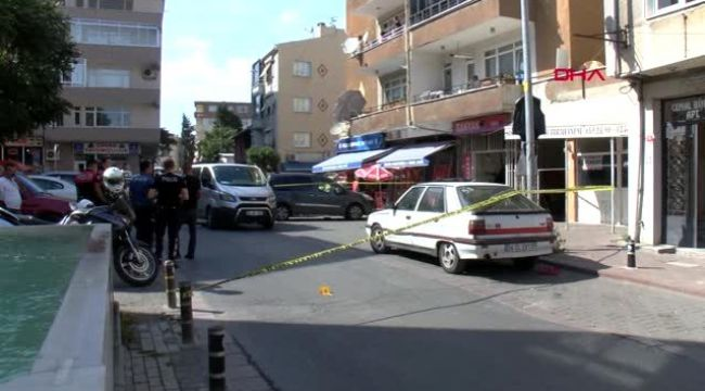 Büyükçekmece'de silahlı saldırı; 1 yaralı