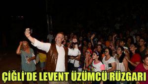 ÇİĞLİ'DE LEVENT ÜZÜMCÜ RÜZGARI