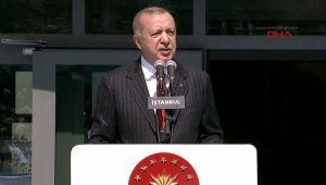 Cumhurbaşkanı Erdoğan, Atatürk Fen Lisesi'nde konuştu