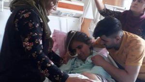 Dövdüğü karısı için hastanede 'merdivenden düştü 'dedi