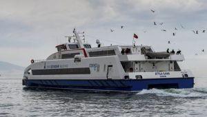İzmir'de deniz ulaşımına olumsuz hava engeli
