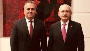 Aydın Özcan'dan Kılıçdaroğlu'na ziyaret