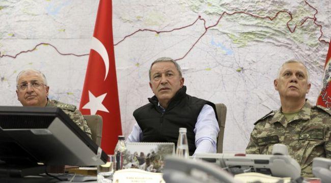 Bakan Akar: Amacımız DAEŞ ve PKK/YPG varlığını sonlandırmak