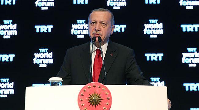 Cumhurbaşkanı Erdoğan: Tüm batı, teröristlerin yanında yer aldı