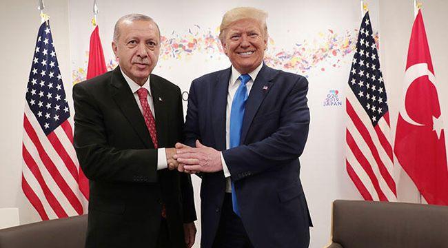 Erdoğan-Trump görüşmesine Pentagon da katılmış