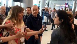 Havalimanında görevliye hakaret eden kadının cezası belli oldu