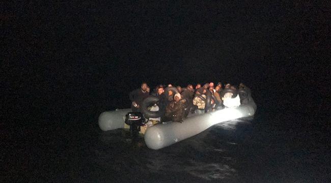 İzmir'de 107 kaçak göçmen yakalandı