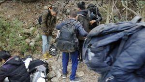 İzmir'de 87 düzensiz göçmen yakalandı