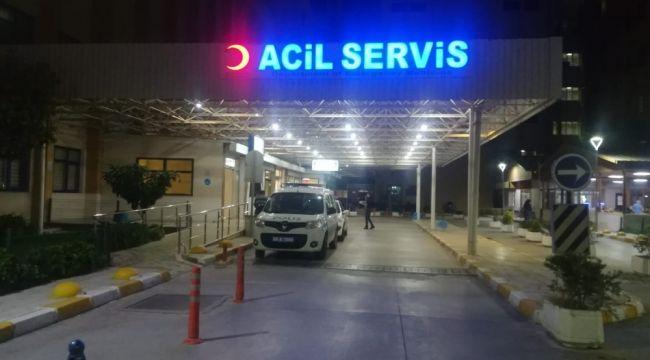 TRAFİK POLİSİNE ÇEVİRMEDE ARAÇ ÇARPTI