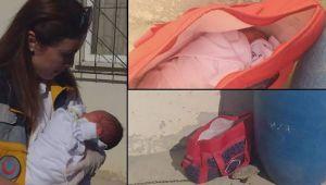 Sevgilisinden hamile kalan kadın, bebeğini doğurup çöp kovasının yanına braktı