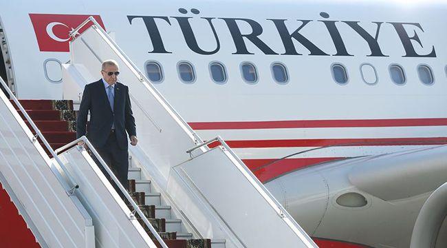 Cumhurbaşkanı Erdoğan ABD'deki temaslarının ardından yurda döndü