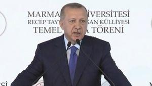 Cumhurbaşkanı Erdoğan: Macron da NATO da Türkiye'nin haklarına saygı göstermeyi öğrenecek