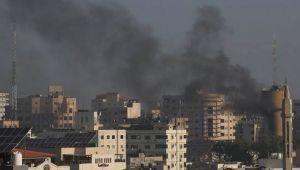 Gazze'ye hava saldırılarında ölü sayısı 12'ye yükseldi