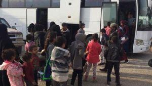 MSB'den açıklama: 593 Suriyeli Tel Abyad'daki evlerine dönüş yaptı