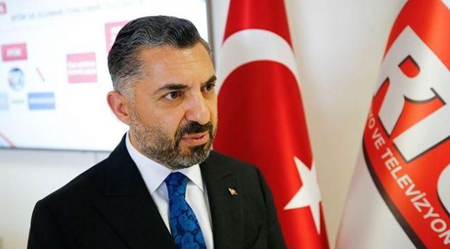 RTÜK Başkanı o görevden ayrıldı