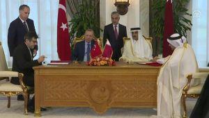 Türkiye ile Katar arasında 7 anlaşma... İmzalar atıldı