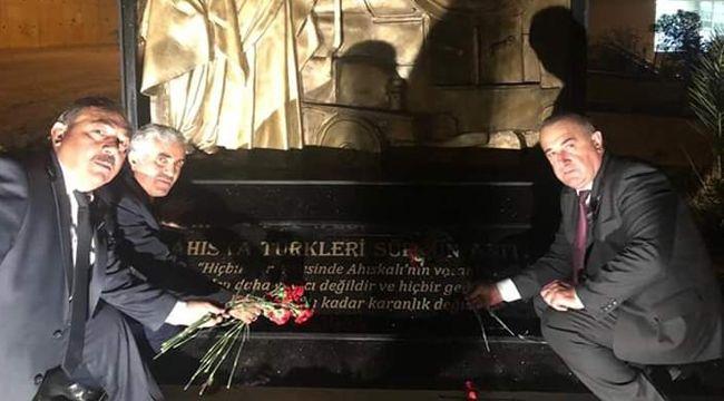Ahıska Türkleri Sürgün Abidesi açıldı