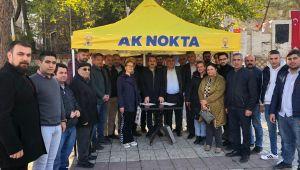 AK PARTİLİ KIRKPINAR'DAN AK NOKTALARA ZİYARET