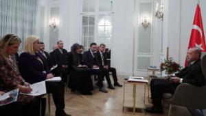 Cumhurbaşkanı Erdoğan'dan Londra'da gazetecilere önemli açıklamalar