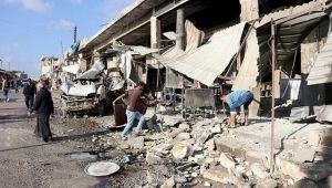 Esad rejimi İdlib'de pazar yerini vurdu: 11 ölü, 20 yaralı