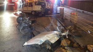 İstanbul'da feci kaza... 1'i ağır 2 yaralı