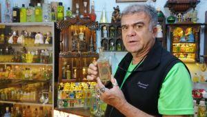 Kolonya şişesi koleksiyoneri müze kurmak istiyor
