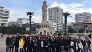 Ödemişli öğrenciler Avrupalı konuklarını ağırladı