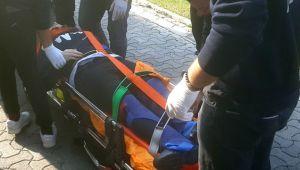 Üniversitede camdan düşen öğrenci ağır yaralı