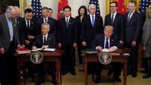 ABD ve Çin arasında tarihi anlaşma