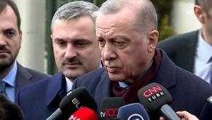 Erdoğan'ın Libya açıklaması
