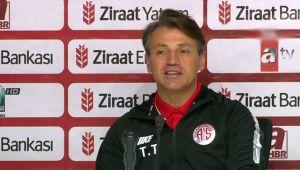 Göztepe - Antalyaspor maçının ardından