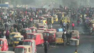 Irak'ta sokaklar alevlendi!