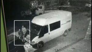 İşte minibüsü böyle soydular