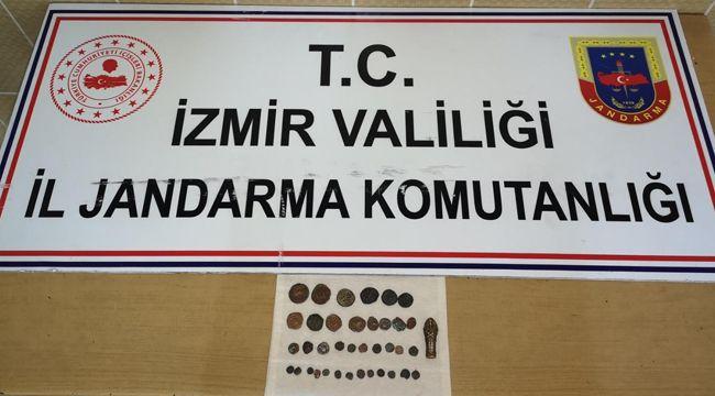 İZMİR'DE TARİHİ ESER OPERASYONU