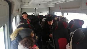 Çanakkale'de 15 kaçak göçmen yakalandı