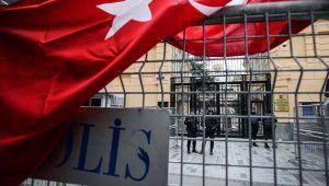 İstanbul Rusya Başkonsolosluğu önünde protesto