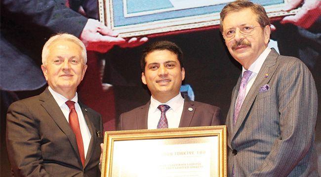 İZTO'dan FGL'ye hızlı büyüme ödülü