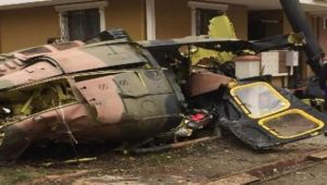 Suriye'de rejime ait helikopter düşürüldü