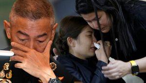 Tayland ordu komutanı gözyaşlarına boğuldu 