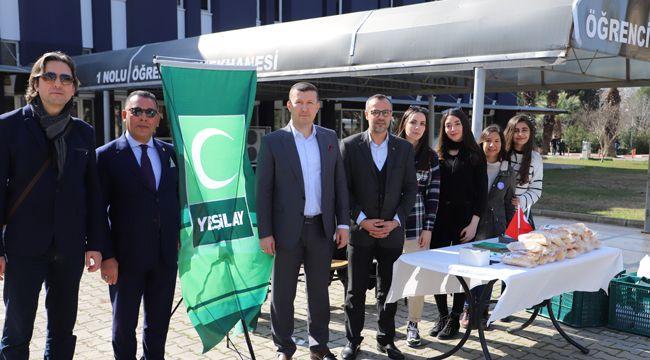 Yeşilay İzmir'den kampüslerde farkındalık etkinliği